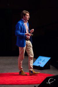 Speaking my rainbow at TEDxGEM